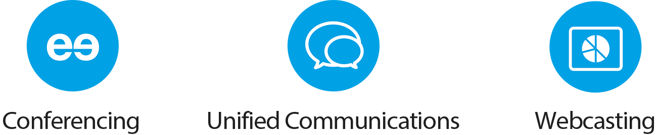 Conferencing, Unified Communications, Webcasting
